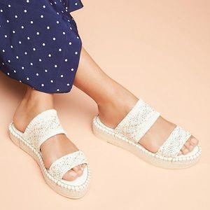 [Anthropologie] Woven Espadrille Sandals